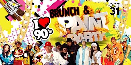 Brunch & Paint: 90s Costume Party tickets