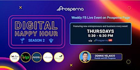 Prosperna Live for MSMEs: Digital Happy Hour Season 2 tickets