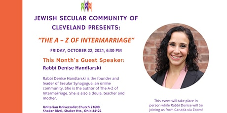 JSC Shabbat: The A-Z of Intermarriage tickets