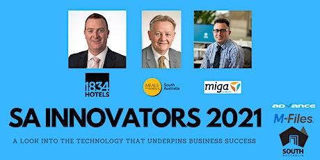 Innovators 2021 - Celebrating innovation and success in South Australia tickets