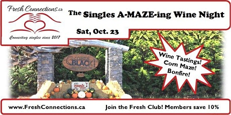 The Singles A-MAZE-ing Wine Night tickets