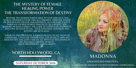 The Mystery of Female Healing Power  with Priestess Madonna tickets
