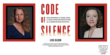P&P Live! Lise Olsen | CODE OF SILENCE with Carrie Johnson tickets