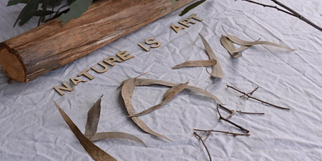 Creating art with nature tickets