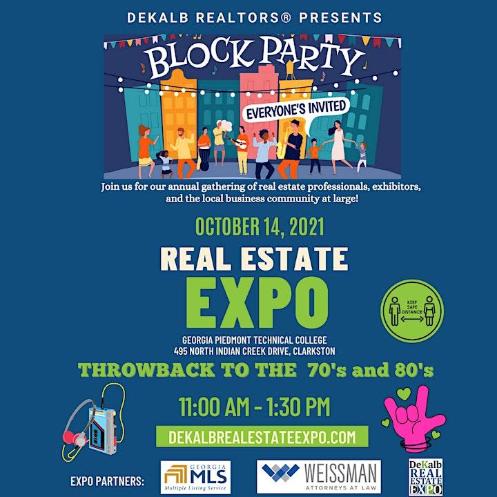 DeKalb Real Estate EXPO and Membership Meeting: It's A Block Party image