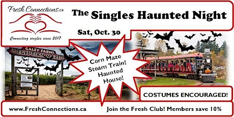 The Singles Haunted Night tickets
