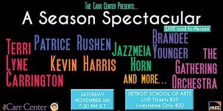 The Carr Center Presents ... A Season Spectacular tickets