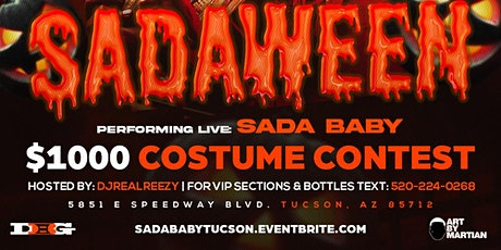 #SADAween 2021 Performing LIVE Sada Baby tickets