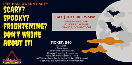 Pre-Halloween Party tickets