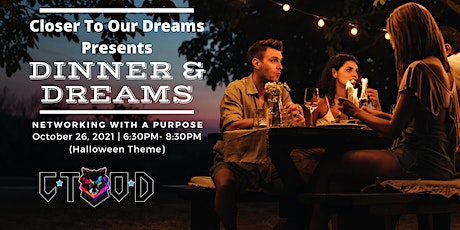 Dinner and Dreams (Halloween Theme) tickets