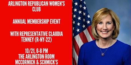 Reception with Congresswoman Tenney tickets