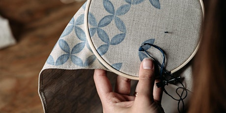 Online Embroidery and Weaving Wall Hanging Workshop tickets