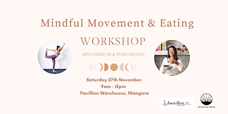 Mindful Movement  & Eating tickets