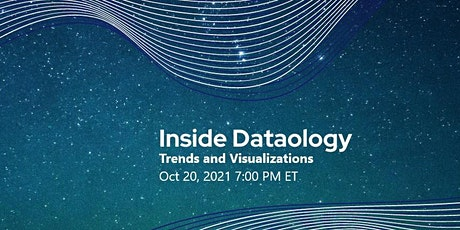 Inside Dataology: Trends and Visualizations tickets