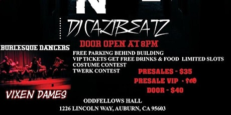 """Auburn's Epic Halloween Party """"Nightmare on Lincoln Way"""" tickets"""