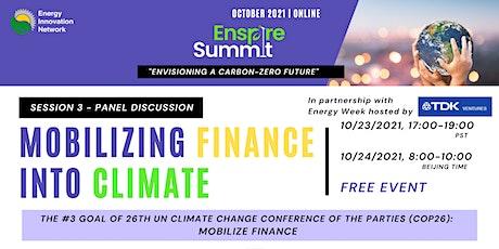 EIN 2021 Enspire Summit Session III: Finance tickets