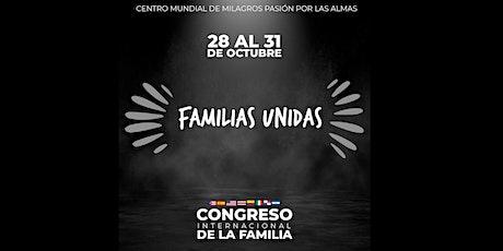 CONGRESO INTERNACIONAL DE LA FAMILIA  boletos