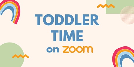 Toddler Time on Zoom tickets