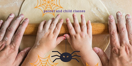 Halloween witches fingers biscuits and fruity eyeballs - kids cooking class tickets
