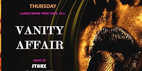 Vanity Affair  / Miami  House Music Thursdays tickets