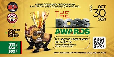 The Boss Awards tickets