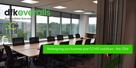 Redesigning your business post COVID Lockdown tickets