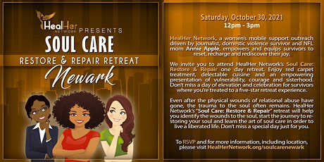 HealHer Network Presents Soul Care: Restore and Repair Retreat (NEWARK) tickets