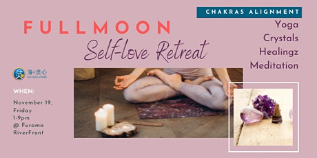 Soul Well: Fullmoon Self-love Retreat (Crystals, Yoga, Healingz) tickets