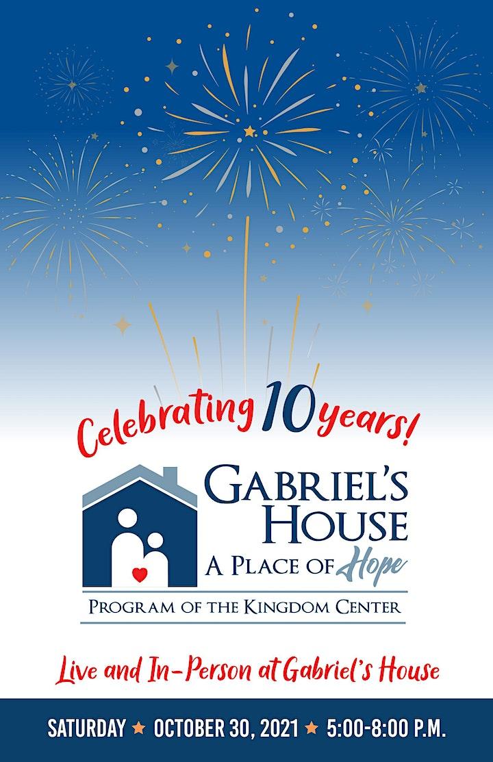 Gabriel's House 10th Anniversary Celebration image