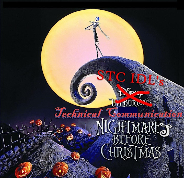 First Fridays at 5: The Tech Comm Nightmare Before Christmas image