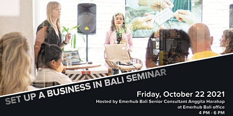 Set Up a Business in Bali | SEMINAR tickets
