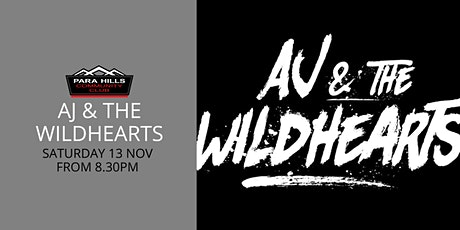 AJ & the Wildhearts tickets