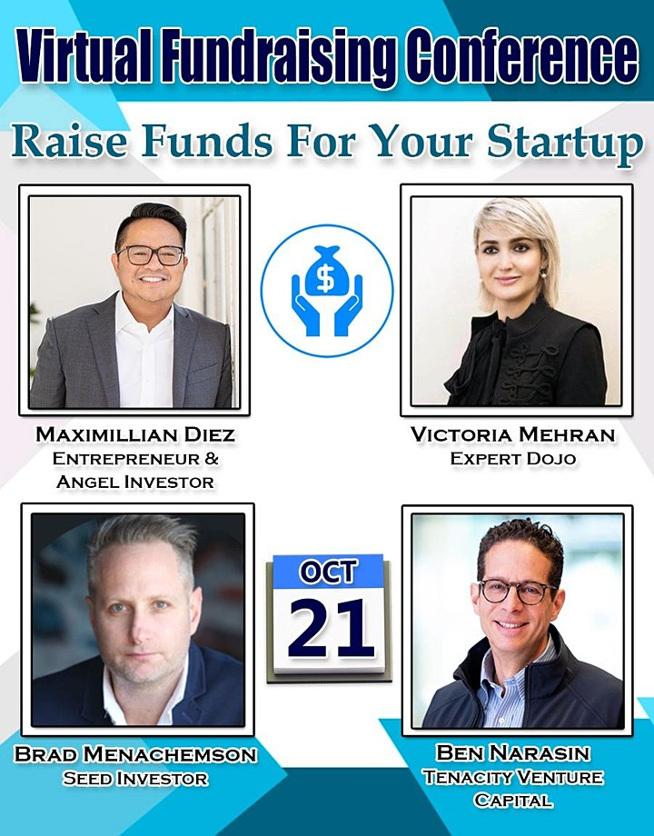 Pitch Startup To VCs - Virtual Fundraising Conference image