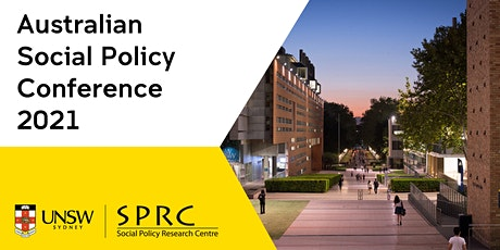 Australian Social Policy Conference 2021 tickets