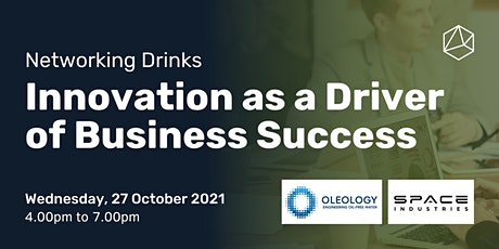 Networking Drinks - Innovation as a Driver of Business Success tickets