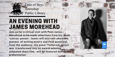 An Evening with Poet James Morehead tickets