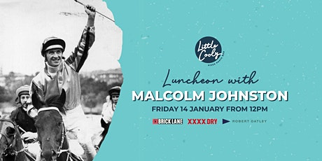 Luncheon with Malcolm Johnston tickets
