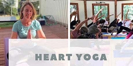 Heart Yoga - Term 4 - Monday Nights tickets