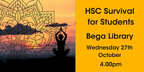 HSC Survival for Students @ Bega Library tickets