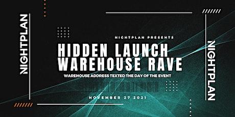 Nightplan Warehouse Rave tickets
