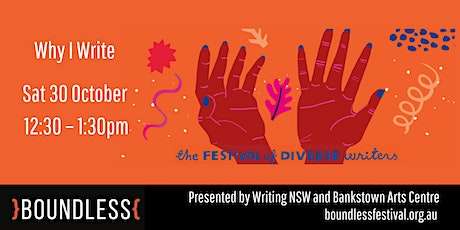 Why I Write  – Boundless Festival 2021 tickets
