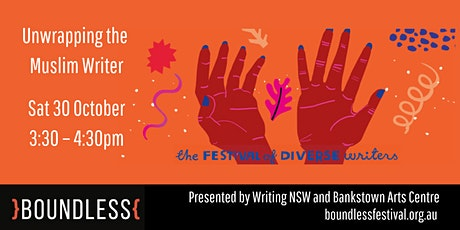 Unwrapping the Muslim Writer  – Boundless Festival 2021 tickets