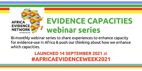 Evidence Capacities Webinar: Orientation of capacity development tickets