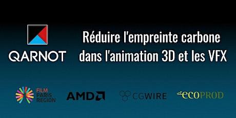Meet up : réduire l'empreinte carbone dans l'animation 3D et les VFX billets