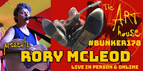Rory McLeod Live Solo Concert   In-person and online tickets