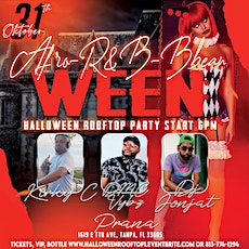 HALLOWEEN AFRO-R&B-BBEAN  RoofTop Sunset Day Party tickets