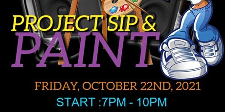 Project Sip & Paint tickets