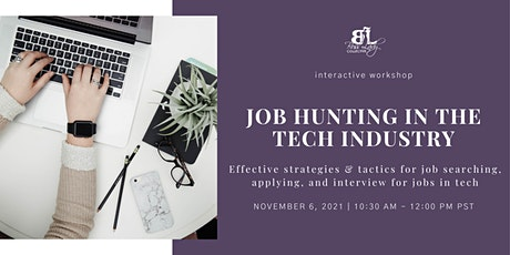 Job Hunting in the Tech Industry tickets