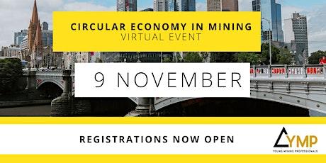 Circular Economy in Mining tickets
