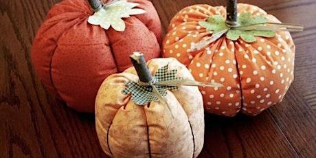 Scrap Pumpkin Workshop £5 tickets
